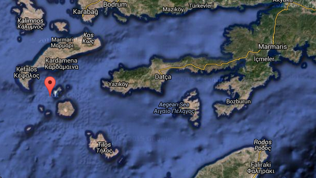 Landfall Turkey now in view