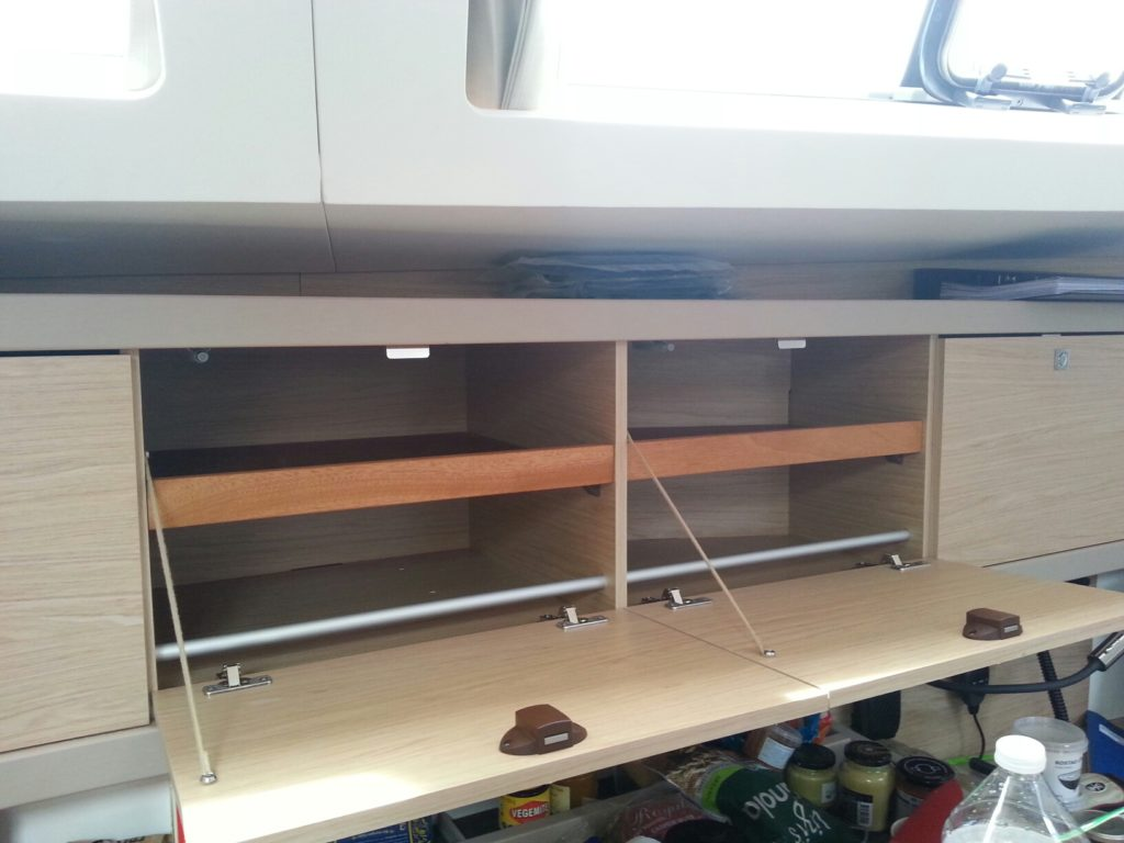 Customised cupboard storage
