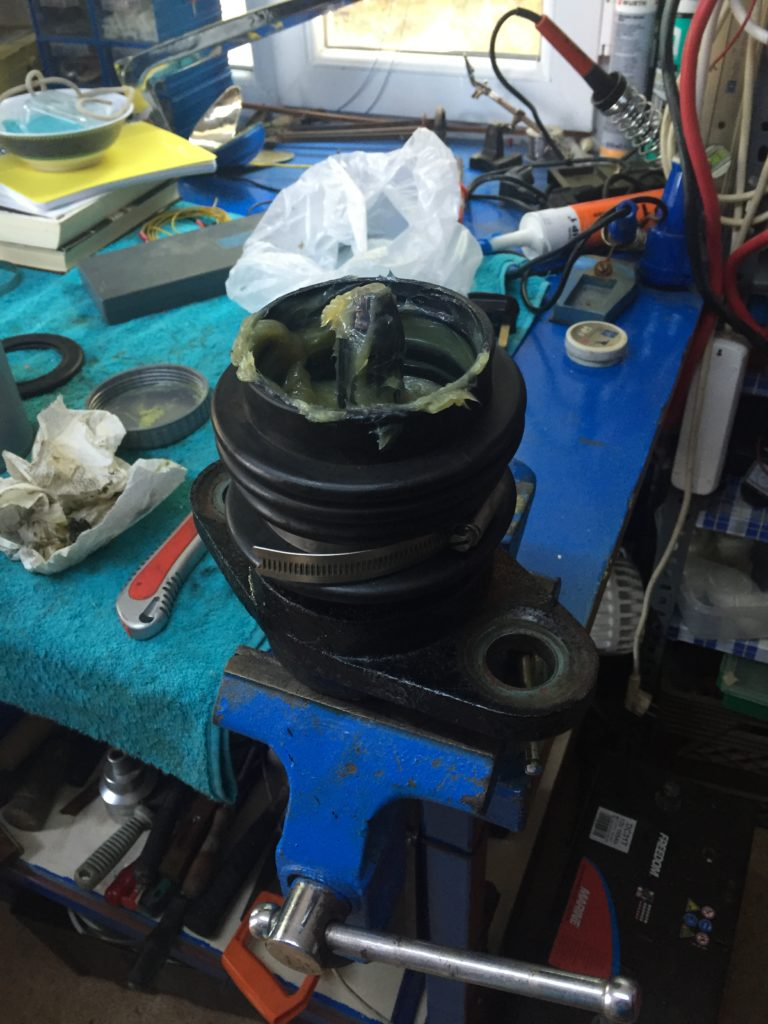 Aquadrive CV Joint just final reassembly