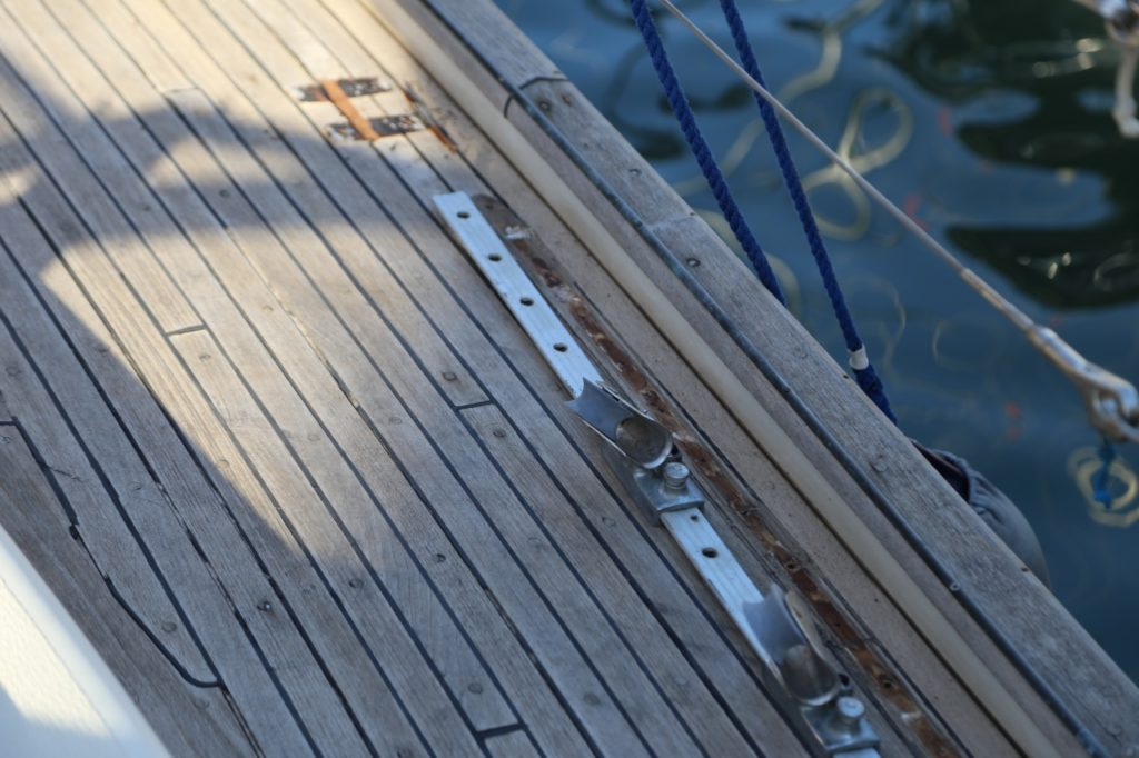 Teak deck replacement
