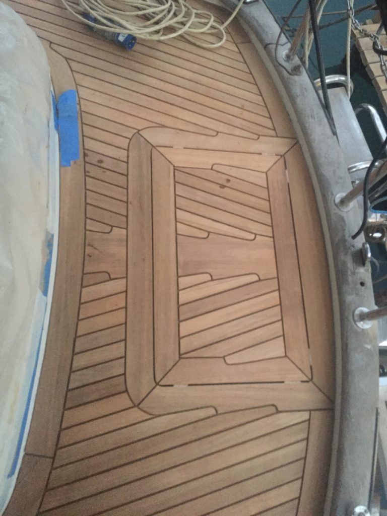 Teak deck photo update 2